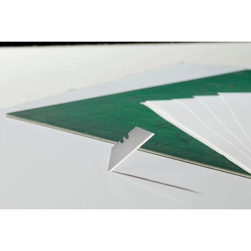 Étui de 10 lames de couteau standard avec trou - STANLEY - 3-11-916 pas cher Secondaire 3 L