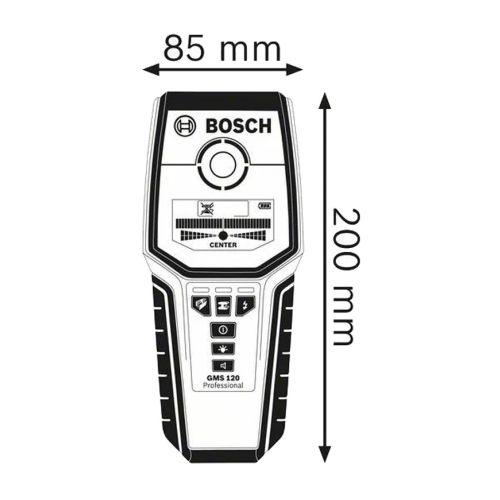 Détecteur mural multifonction GMS 120 en boite carton - BOSCH - 0601081000 pas cher Secondaire 1 L