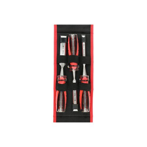 Set de 3 ciseaux à bois XPRO 10-15-20 mm - HANGER - 110590 pas cher Secondaire 7 L