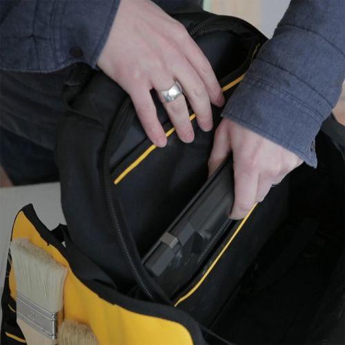 Sac à dos porte-outils 28L Fatmax Pro - STANLEY - 1-95-611 pas cher Secondaire 3 L