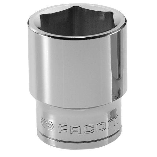 Douille 1/2'' 6 pans métrique diamètre 9 mm longueur 36 mm - FACOM - S.9H pas cher