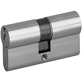 Cylindre double P30 s'entrouvrant couleur nickelé pas cher
