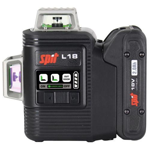 Laser vert 360° sans fil Spit L18 18 V nu + trépied + coffret Keybox photo du produit Secondaire 2 L