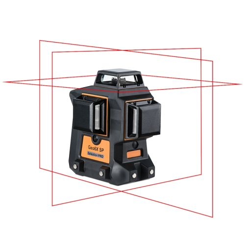 Laser multi plans Geo Fennel GEO6X SP kit rouge en coffret standard photo du produit