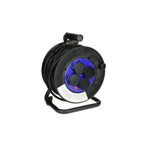 Enrouleur électrique 25 m section 3G 1,5 mm² H05RR-F - HANGER - 600004 pas cher Secondaire 1 L