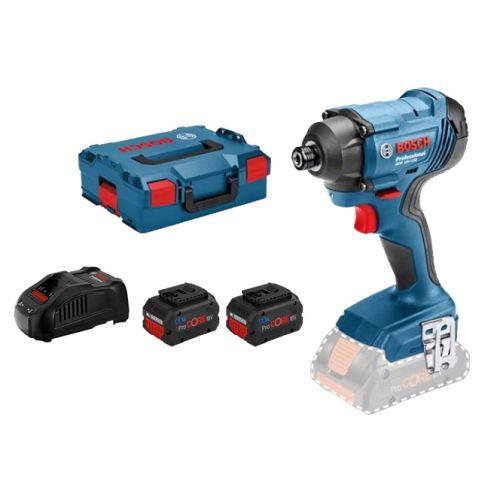 Visseuse à chocs sans-fil Bosch GDR 18V-160 18 V + 2 batteries 5,5 Ah Procore + chargeur GAL 1880 + L-Boxx photo du produit