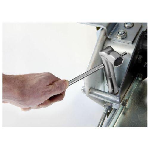 Clé en tube coudée metrique diamètre 7 mm longueur 100 mm - FACOM - 92A.7 pas cher Secondaire 2 L