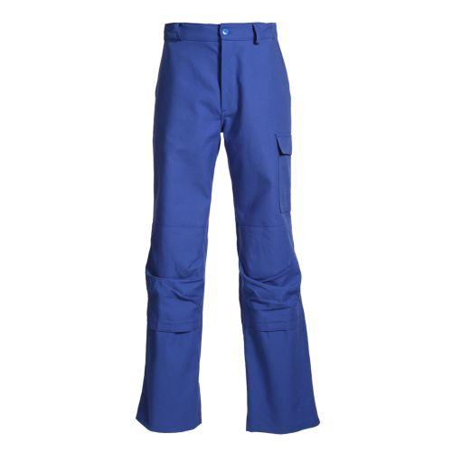 Pantalon coton avec poche genouillères bleu bugatti taille 6 - MUZELLE DULAC - NEWPILOTEPN10PG03-T6 pas cher Principale L