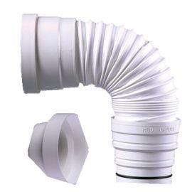 Pipe WC extensible Garis souple et orientable pas cher