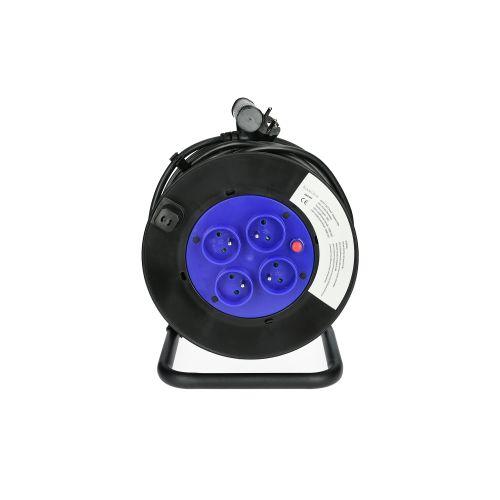 Enrouleur électrique 40 m section 3G 1,5 mm² H05VV-F - HANGER - 600003 pas cher