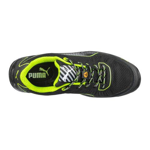 Chaussures de sécurité basses Fuse TC S1P SRC pointure 45 - PUMA - 644210-T.45 pas cher Secondaire 2 L