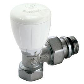 Robinet thermostatisable équerre série fer GIACOMINI photo du produit
