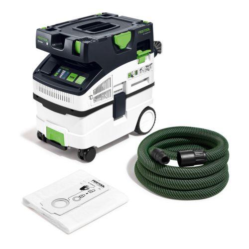 Aspirateur eau et poussières CTM MIDI I Cleantec 15L 1200W photo du produit Principale L
