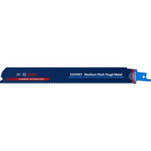 Lame de scie sabre Expert Medium-Thick Tough Metal S 1155 HHM - BOSCH EXPERT - 2608900374 pas cher