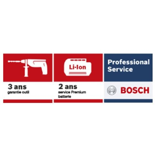 Perforateur SDS-Plus sans-fil GBH 18 V-EC 18 V (machine seule) en coffret L-Boxx - BOSCH - 0611904003 pas cher Secondaire 5 L