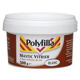 Mastic vitrier Polyfilla pas cher