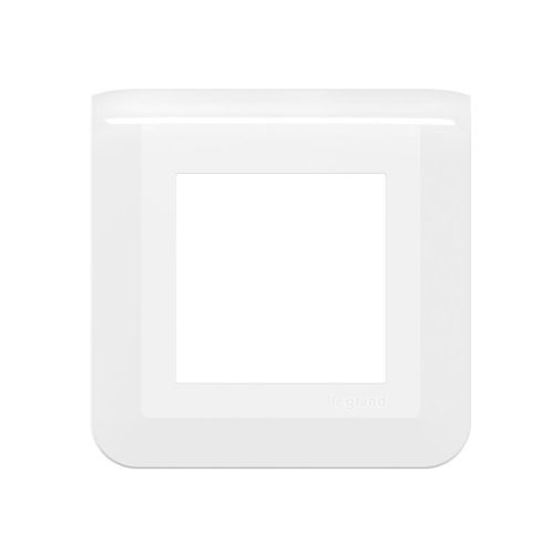 Plaque de finition Mosaic EASYLED pour 2 modules blanc - LEGRAND - 078802L pas cher Principale L