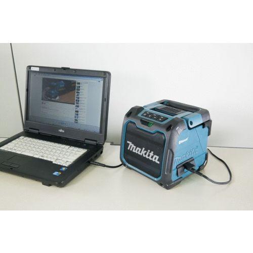 Radio bluetooth 18V double alimentation (machine seule) en boite carton - MAKITA - DMR200 pas cher Secondaire 3 L