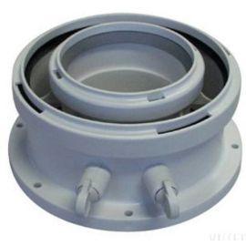 Adaptateur vertical avec prises de mesures 80/125 ELM LEBLANC photo du produit