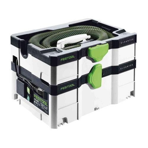 Aspirateur CLEANTEC CTL SYS 1000 W en boîte carton - FESTOOL - 575279 pas cher Secondaire 2 L
