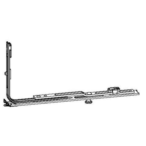 Verrouillage complémentaire pour ferrage longueur 1050mm à 2 galets - FERCO - 6-32075-10-0-1 pas cher Secondaire 1 L