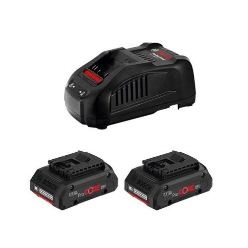 Pack de 2 batteries Procore 18V 4AH et son chargeur GAL1880 CV en boîte carton - BOSCH - 1600A016GF pas cher Principale L
