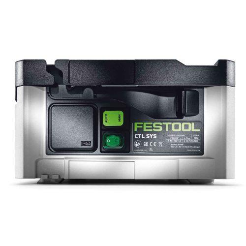 Aspirateur CLEANTEC CTL SYS 1000 W en boîte carton - FESTOOL - 575279 pas cher Secondaire 3 L