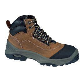 Chaussures de sécurité hautes en cuir Lemaitre SOLANO S3 SRC CI pas cher