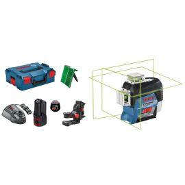 Laser lignes Bosch GLL 3-80 CG + batterie GBA 12V 2.0Ah + chargeur GAL 1230 CV + L-BOXX pas cher Principale M