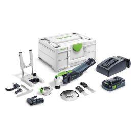 Scie oscillante sans-fil Festool OSC 18 HPC 4 EI-Set 18 V + batterie 4 Ah + chargeur + Systainer pas cher Principale M