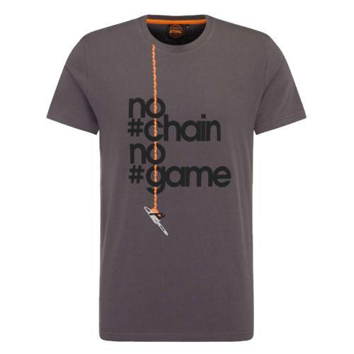 T-shirt homme NO CHAIN taille XL - STIHL - 0420-200-0160 pas cher