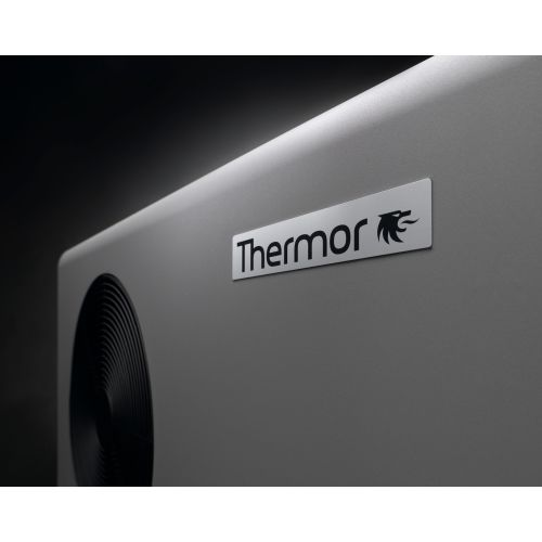 Chauffage piscine pompe à chaleur 10 KW avec housse et commande aéromax 2 - THERMOR - 297110 pas cher