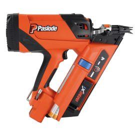 Cloueur à gaz IM90Xi Paslode + batterie 2.1 Ah + chargeur + coffret pas cher