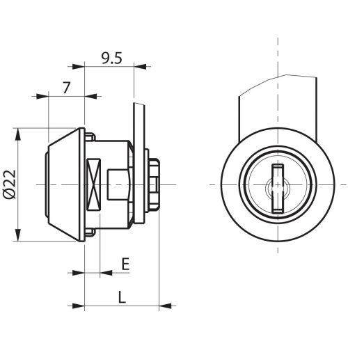 Batteuse type 4900-02 1/2 tour - RONIS - 16006 pas cher Secondaire 6 L