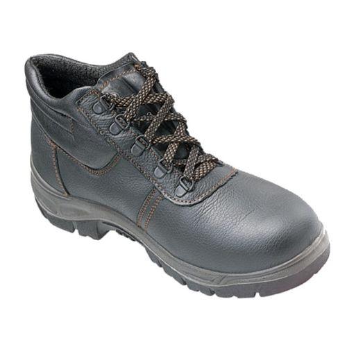 Chaussures de sécurité hautes en cuir fleur de vachette S1P noir pointure 43 - TEC SAFETY WORKWEAR - B0911-T43 pas cher Principale L