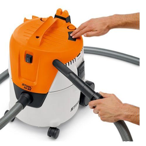 Aspirateur eau et poussières SE 62 - STIHL - 4784-012-4400 pas cher Secondaire 3 L