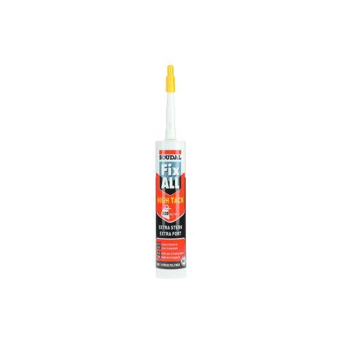 Mastic colle Fix All High Tack beigecartouche 290 ml - SOUDAL - 100271 pas cher Secondaire 9 L