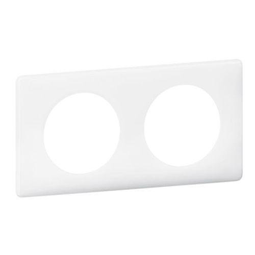 Plaque CÉLIANE N1 3 postes blanc - LEGRAND - 068633 pas cher Secondaire 2 L