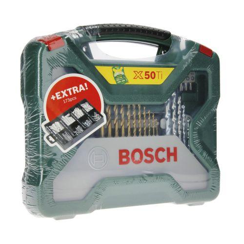 Kit d'accessoires X-line 50 Ti + kit de fixation 173 pièces - BOSCH - 2607017523 pas cher Secondaire 1 L
