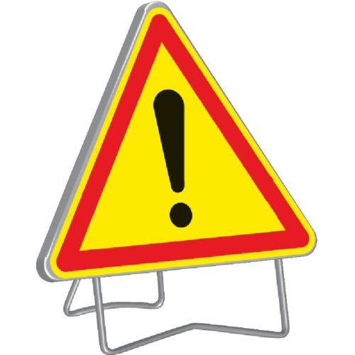Panneau de signalisation triangulaire 1000 mm 'Danger' - TALIAPLAST - 522005 pas cher Principale L