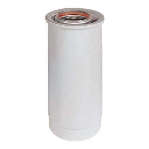 Conduit télescopique Ubbink Rolux Gaz D80/125 alu/PVC photo du produit