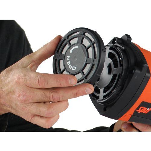 Cloueur à gaz sans-fil Spit Pulsa 40E + batterie 2.5 Ah + chargeur photo du produit Secondaire 6 L