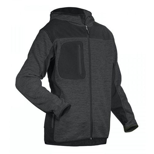 Veste softshell tricot BORA gris foncé / noir taille L - COVERGUARD - 5BORGL pas cher Principale L