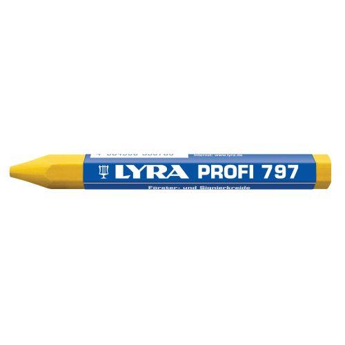 12 craies forestières 120 x 12 jaunes - LYRA - 4870007 pas cher Principale L