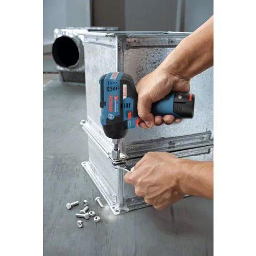 Boulonneuse sans-fil GDS 12V-115 Professional 12 V solo en coffret L-BOXX - BOSCH - 06019E0102 pas cher Secondaire 3 L