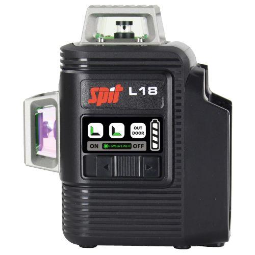 Laser vert 360° sans fil Spit L18 18 V nu + trépied + coffret Keybox photo du produit