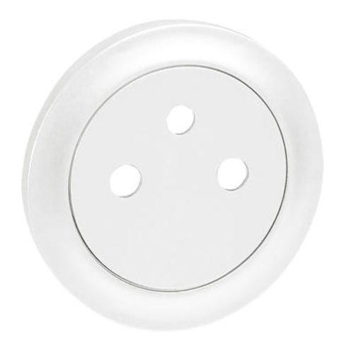 Enjoliveur N1 prise 2P+T blanc LEGRAND 068111 photo du produit Principale L