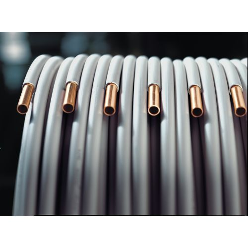 Couronne cuivre gainé PVC 25 m photo du produit Principale L