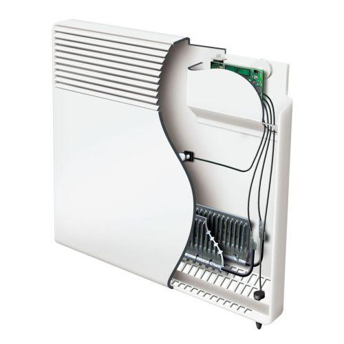 Convecteur électrique F617 horizontal 500W blanc - ATLANTIC -561705 pas cher Secondaire 2 L