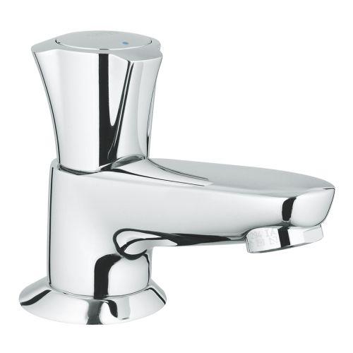 Robinet de lavabo monofluide Costa L bec coulé - GROHE - 20404001 pas cher